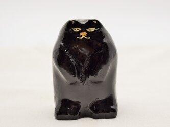 黒猫 黒漆白漆の画像