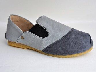 【受注製作】ROUND slip-on sneakersの画像