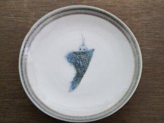 4寸皿(ミノムシ)の画像