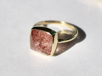Strawberry quartz Ringの画像