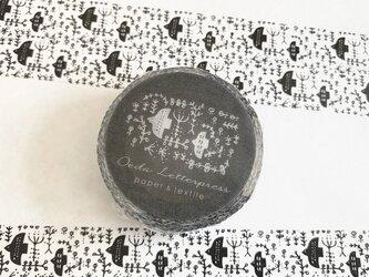 【オリジナル】マスキングテープ forest 〈くろのとり〉の画像
