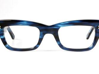 手作りセルロイド眼鏡038-AQAQの画像