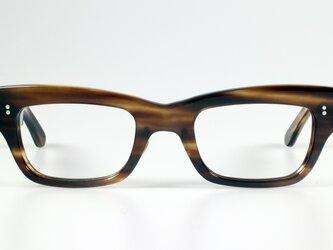 手作りセルロイド眼鏡038-WWの画像