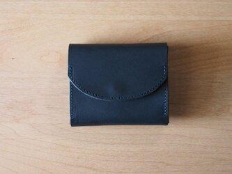 palm(navy) - コンパクトウォレット(ネイビー)            ミニ財布 コンパクト財布の画像