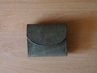 palm(moss grey) - コンパクトウォレット(モスグレー)         ミニ財布 コンパクト財布の画像