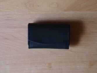 pillow(nero) - コインケース/カードケース/名刺入れ(ネロ)ブラックの画像