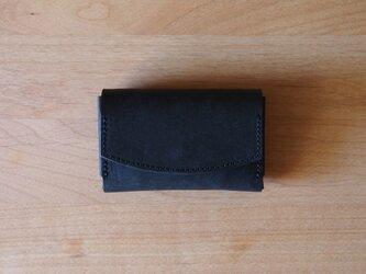pillow(carbon black) - コインケース/カードケース/名刺入れ(カーボンブラック)の画像