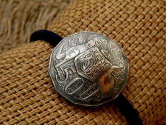 #H86 Australia Coin Hair Elasticの画像