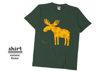 《北欧柄》Tシャツ 4color/S〜XLサイズ sh_008の画像