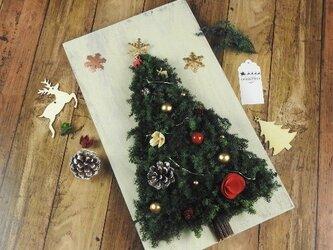 【早期割引】~Antique・Xmas★壁掛けのイルミネーション・クリスマスツリー~の画像