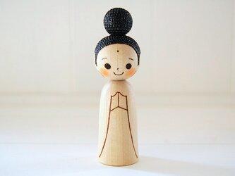 [conocokeshi]仏像こけし*祈り*[124]の画像