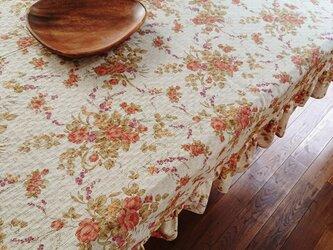 秋の模様のテーブルクロス201cm×130cmの画像