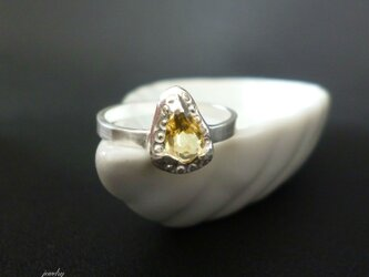 Antique ring - silver #002の画像