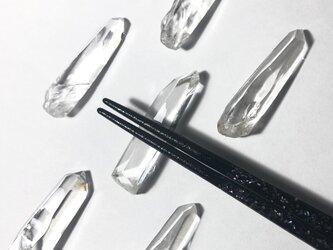 水晶箸置きの画像