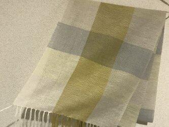 手織りストール A32の画像
