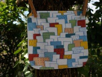 ミニタオル「街並み」の画像