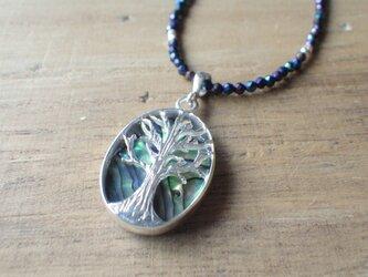 Tree of Life 生命の樹 スピネルのハワイアンネックレス*sv925*2WAYの画像
