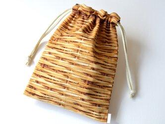 果実なバスケット ブルーベリー・巾着袋 【 Simple 】の画像