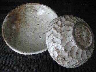 しのぎ模様 マット小鉢の画像