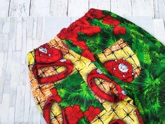 アフリカ布でパンツの画像