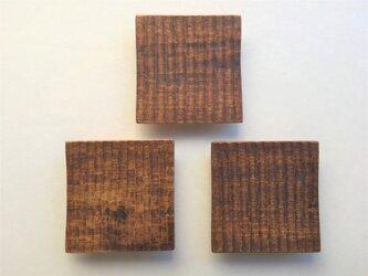 西南桜の角小皿(3枚セット)の画像