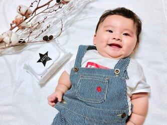 365日withおしりふき♡ おしりふきのふた 星 スター 出産祝いの画像