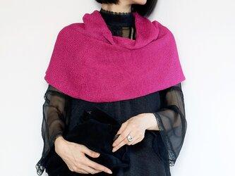 ◆即納◆Coron[コロン] スヌード・ケープ / フューシャ・ピンクの画像