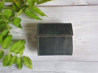 三つ折り財布 box【受注製作】の画像