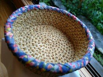 和布と藁を編んだ自然素材の「猫鍋」④…猫ハウス・猫つぐら・猫ベッドの画像