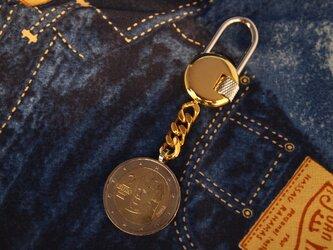 コイン・キーホルダー オーストリア2ユーロの画像