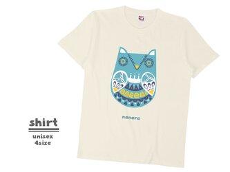 《北欧柄》Tシャツ 4color/S〜XLサイズ sh_014の画像