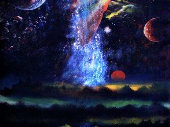銀河・星雲・・・乱れる星の画像