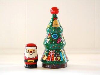 ☆クリスマスツリー☆マトリョーシカ☆の画像