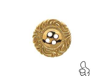 金のボタンの画像