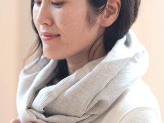コンパクトスヌード【Organic Cottonヤクビエラ】の画像