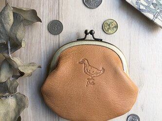 がま口財布 [アヒル]の画像