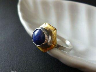 Antique ring - Lapis lazuriの画像