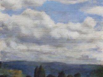 雲と木との画像