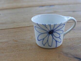 マーガレット 一輪 コーヒーカップ の画像
