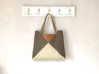 Michi  bag *トート*P〈モカ〉の画像