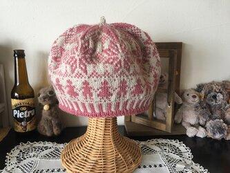北欧トラディショナルベレー帽 【シュガーベリー】の画像