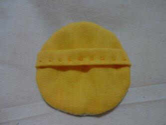 猫なでパフシルク (黄色)の画像