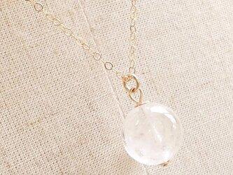 霊峰・ヒマラヤを着こなす|ヒマラヤ水晶Simpleネックレスの画像