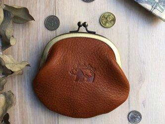がま口財布 [パンダ]の画像
