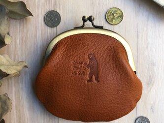 がま口財布 [マレーグマ]の画像