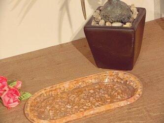小物入れ♡オレンジカルセドニーの画像