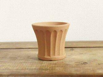しのぎ手の植木鉢/2.5号の画像