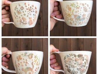 とりすけ様 ご注文品 — 掻き落としマグカップ4点の画像