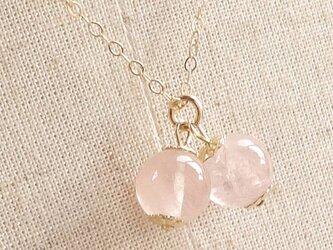 愛を刺激する|モルガナイト(最高ランク・宝石質)Cherryネックレスの画像