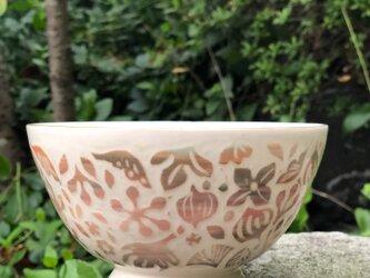 Kakiotoshi bowl - 秋の植物の画像